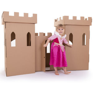 Kid Eco Castle Brown - toys & games