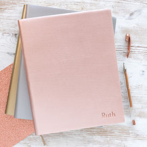 The Leather Notebook - stationery-lover