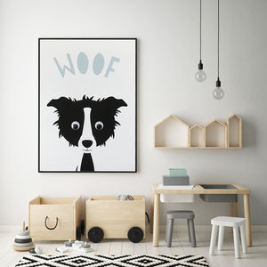 Farmyard Animal Nursery Prints