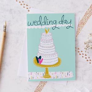 Wedding Day Greetings Card - winter sale