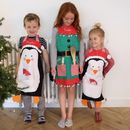 Personalised Christmas Apron For Kids