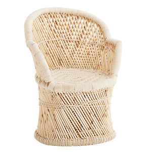 Bamboo Scuttle Chair