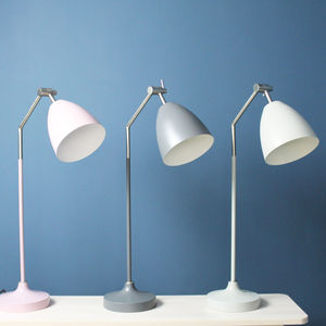 Tall Coloured Metal Desk Lamp - table lamps