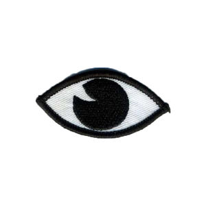 Embroidered Iron On Eye Patch