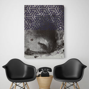 Bottom Feeder, Canvas Art - modern & abstract