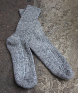 Salted Wool Walking Socks