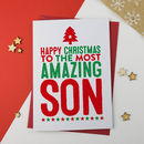 Amazing Son Christmas Card