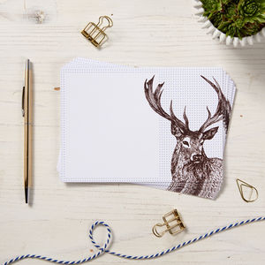 Stag Wedding Speech Cards