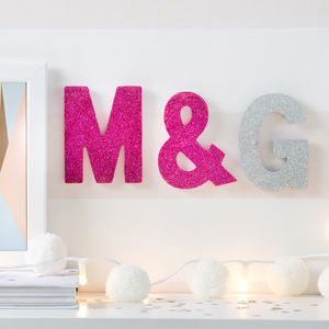 Mini Sparkle Letters - decorative letters