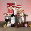 The Luxury Gift Hamper With Red Wine