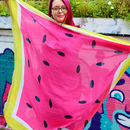 Bright And Colourful Watermelon Scarf