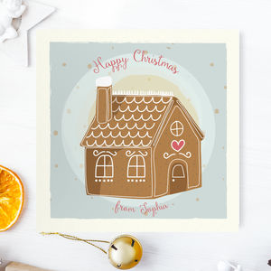 Christmas Mini Cards: Gingerbread