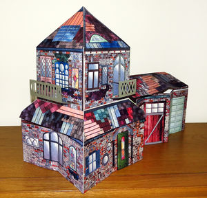 Personalised 3D Pop Up House In A Book Sculpture