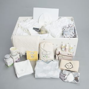 Luxury Baby Box With New Baby Gift Set - new baby gifts