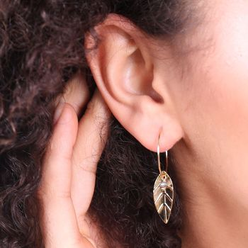 Earrings On Model
