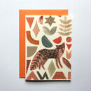 Illustrated Fox Greeting Card