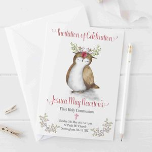 Invitations Boys Girls Holy Communion - personalised