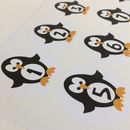 Penguin Advent Stickers For Diy Advent Calendar Crafts