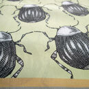Beetle Bum | Square Silk Scarf