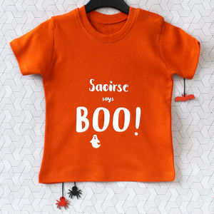 Personalised Halloween T Shirt - baby's first halloween