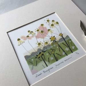 Japanese Anenome Limited Edition Print