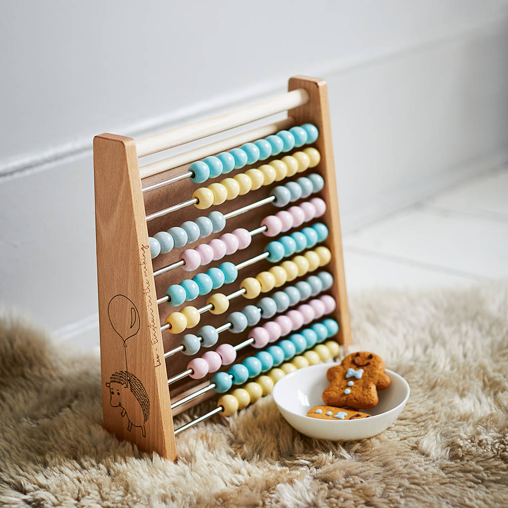 Children's Personalised Abacus