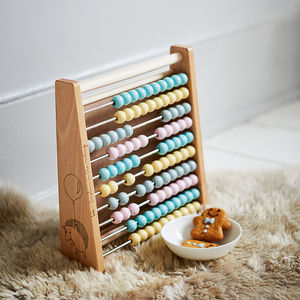 Children's Personalised Abacus - gifts for babies