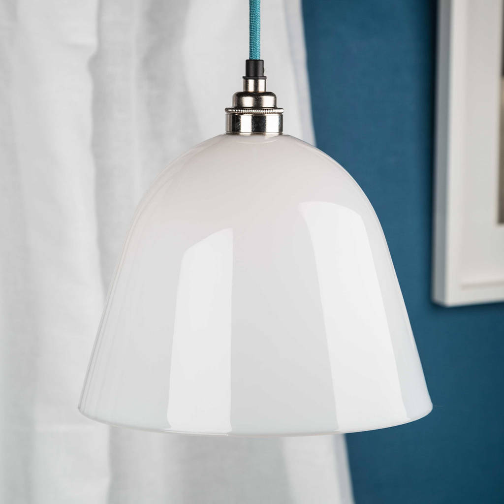 Opal Gl Bletchley Shade Pendant Light