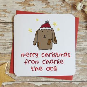 Merry Christmas From The Dog Xmas Card - shop by category