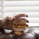 Crystal Cut Personalised Whisky Tumbler