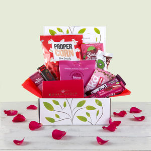 Love Chocolate And Snack Hamper Gift Box - hampers