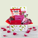 Love Chocolate And Snack Hamper Gift Box