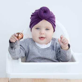 baby head turbans