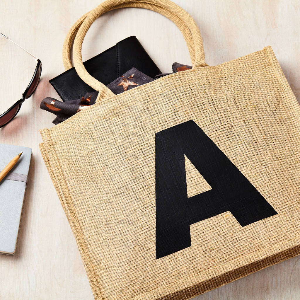 Personalised Alphabet Shoppping Bag
