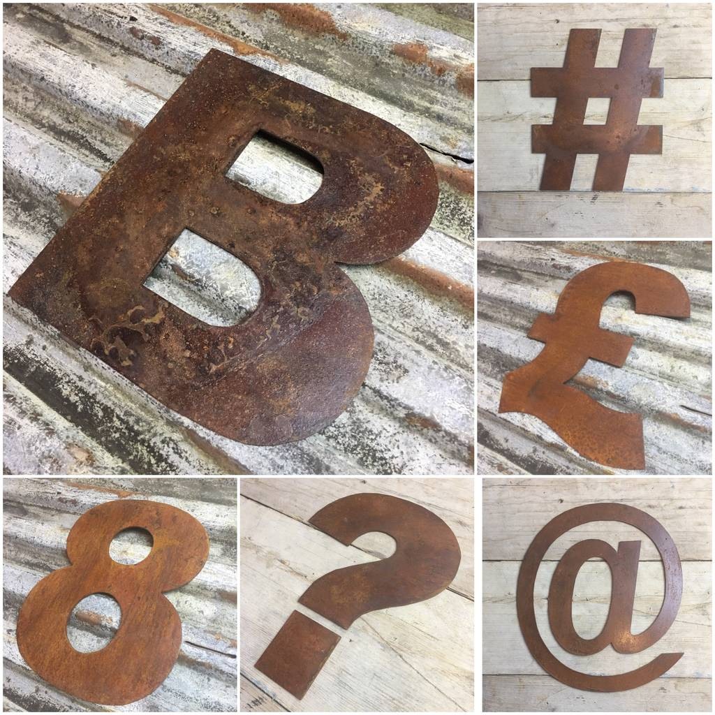 Tin Letters For Sale Metal Wall Letters