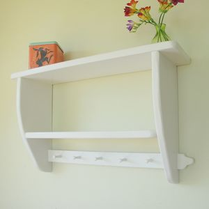 Vintage Country Kitchen Double Shelf - home decorating