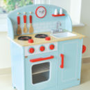 Wooden Retro Lynton Kitchen Play Scene
