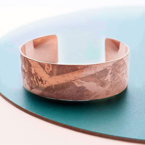 Handmade Rose Gold Cuff - women's jewellery