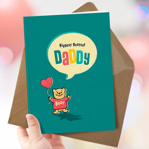 Daddy 'Daddy Bear' Card