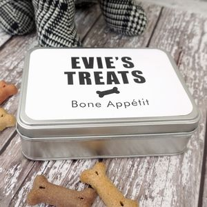Dog Birthday Treat Biscuit Tin - dogs