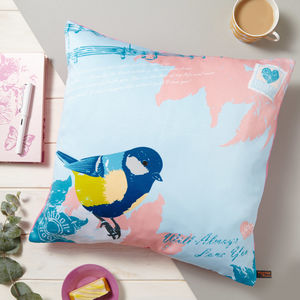 Love Letter Vintage Cushion - cushions