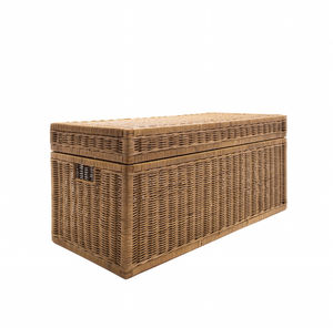 Wicker Storage Trunk - bedroom