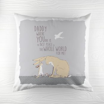 'The Best Place In The World' Cushion Cover