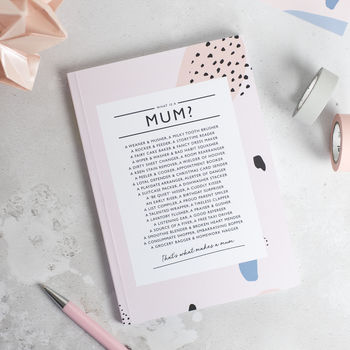 Mum Poetry Notebook