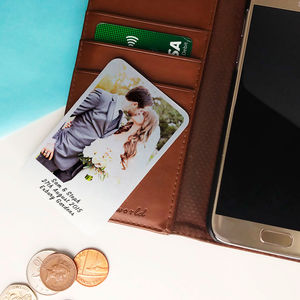 Personalised Aluminium Photo Card - decorative accessories