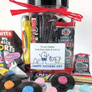 Personalised Retro Liquorice Sweets Jar For Birthday