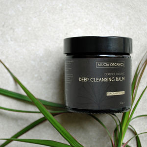 Organic Deep Cleansing Balm Fragrance Free - cleansers & toners