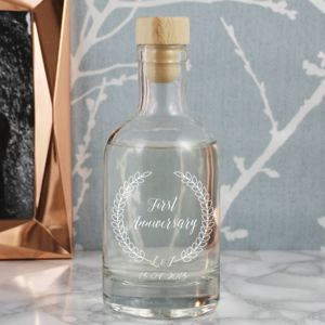 Personalised Anniversary Decanter Gift