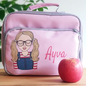 Personalised Create Your Own Girl's Lunchbag