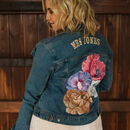Personalised Hand Painted Denim Jacket